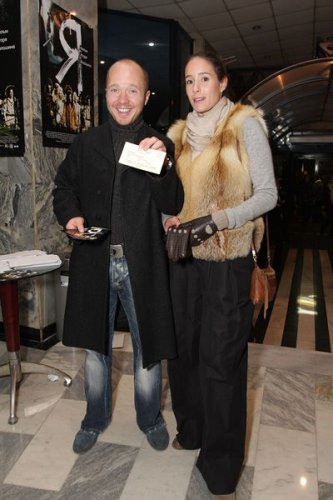 С теперешней избранницей, актрисой Ольгой Сутуловой