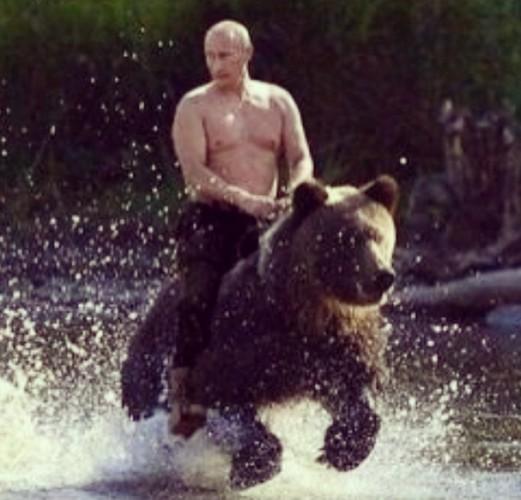 Виктория Боня показала фото Владимира Путина с оголенным торсом