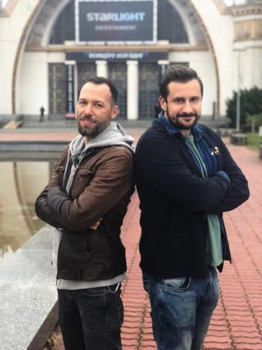 Константин Томильченко и Александр Братковский