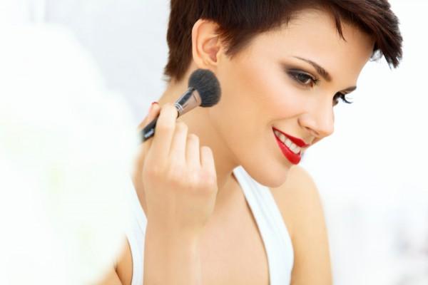 Экспресс-макияж фото