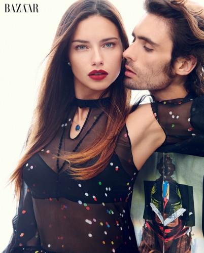 Современные Ромео и Джульетта в американском Harper's Bazaar