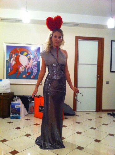 Ксения Собчак выложила 14 февраля в блог новые фото