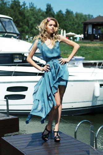 Самая стильная участница получит в подарок дизайнерское платье