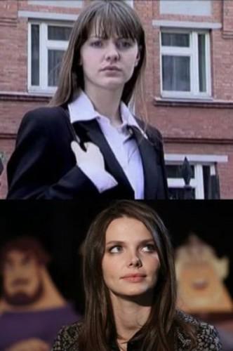 На школьном фото актрисы Лизы Боярской (вверху) видно, что нос звезды ранее имел другую форму.