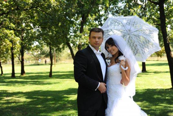 Алина Завальская с мужем