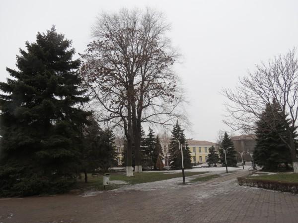 Парк в Днепродзержинске