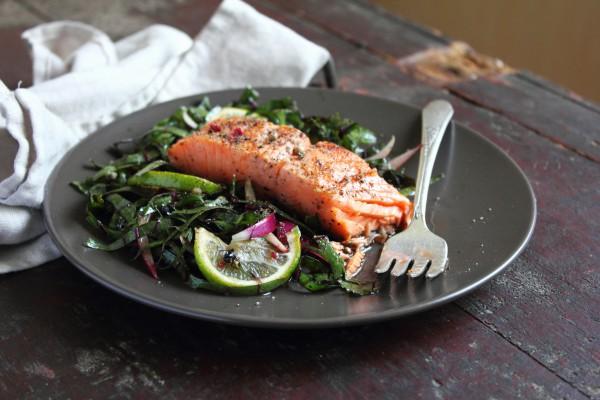 Подавай лосося с любым гарниром на свой вкус