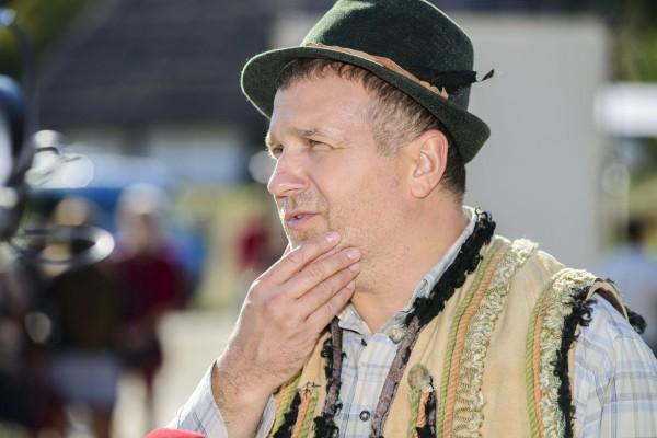 Юрий Горбунов сыграл одну из главных ролей в сериале Московський родич
