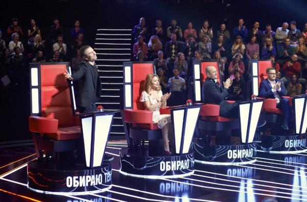 Звездные тренеры шоу Голос країни сформировали свои команды