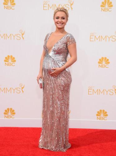 Хайден Паннетьери на премии Emmy 2014