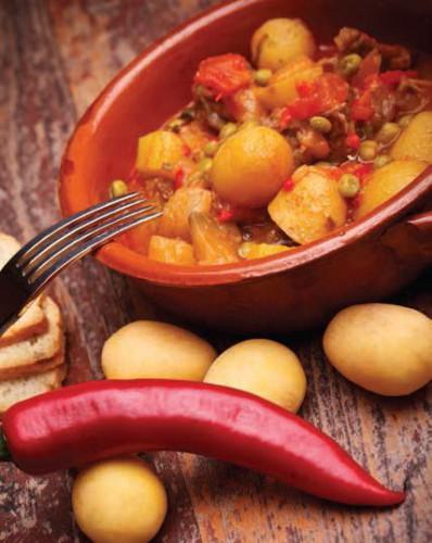 Овощная запеканка в томатном соусе