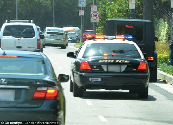 У Ким Кардашян проблемы с полицией