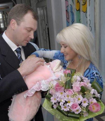Катя Бужинская со вторым мужем Владимиром