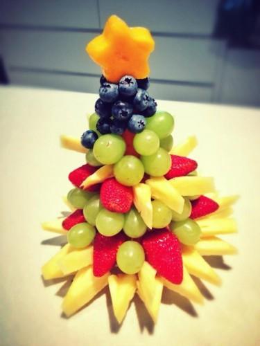 Анна Артеменко поделилась рецептом фруктовой елки