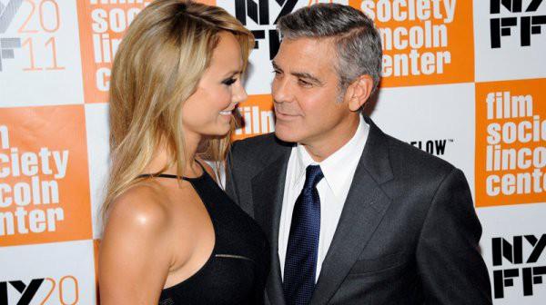 Джорджа Клуни со Стейси