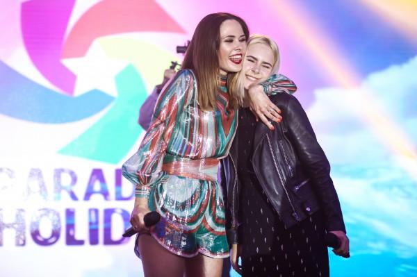 Юлия Санина и Анна Воронова фото