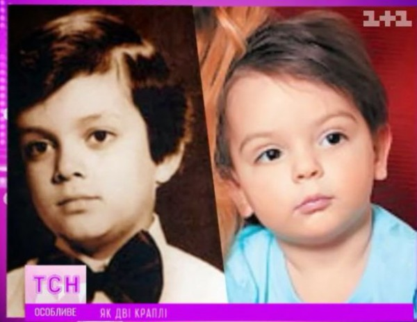 Стоцкая утверждает что ее сын (справа) и Киркоров (слева) не похожи