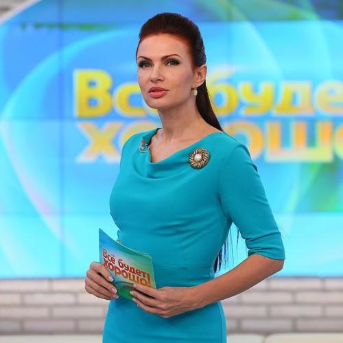 Российская актриса и телеведущая Эвелина Бледанс