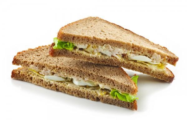 Сэндвичи для пикника с яичным салатом