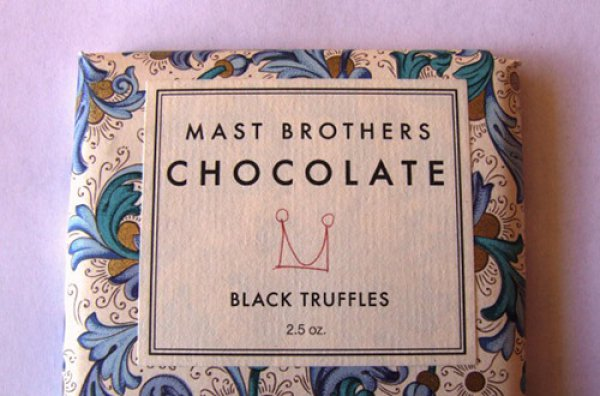 Шоколад со вкусом черного трюфеля