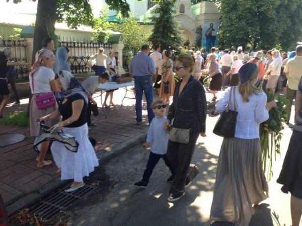Сын Тины Кароль ходит в воскресную школу при Ильинской церкви