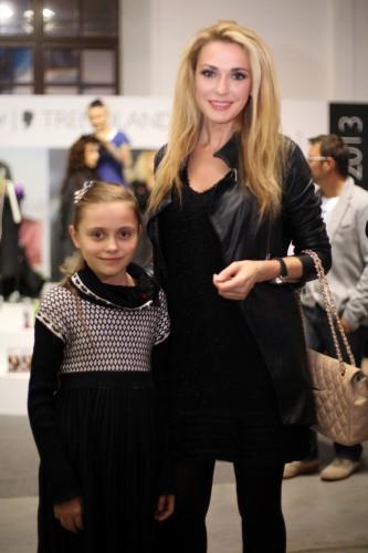 Ольга Сумская: приучаю дочь к моде
