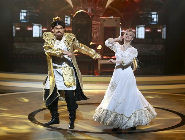 Дмитрий Адарюков и Лидия Шестопал