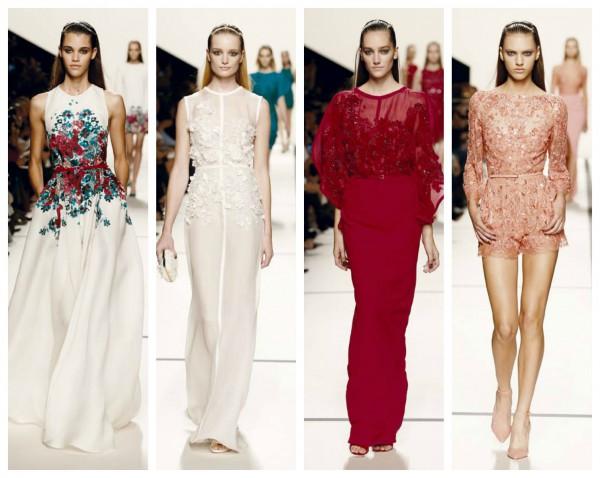 Коллекция модных кружевных платьев