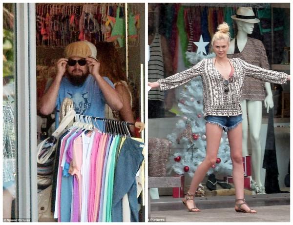 Леонардо ДиКаприо застали с новой незнакомой девушкой на шоппинге
