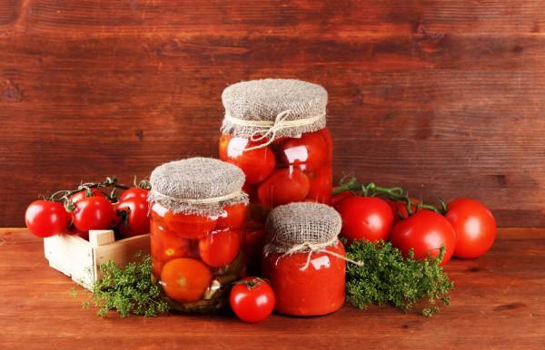 Квашеные помидоры с укропом