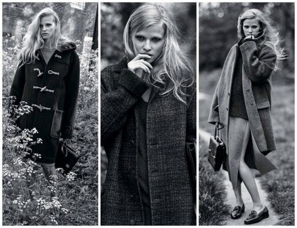 Модные пальто в фотосессии The New York Times T Style Magazine