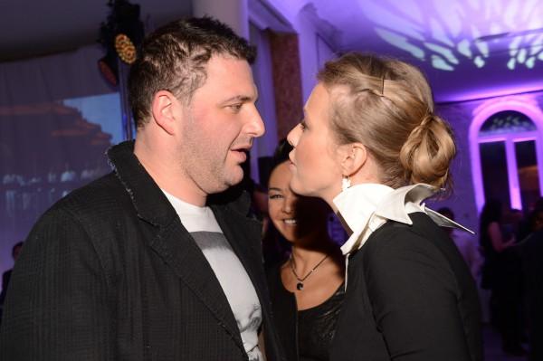 Светская львица Ксения Собчак и ее муж, актер Максим Виторган
