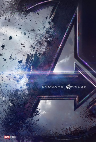 """Официальный постер """"Avengers: Endgame"""""""