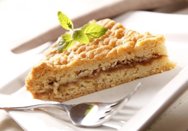 Рецепт                  Тертый пирог с яблочным повидлом