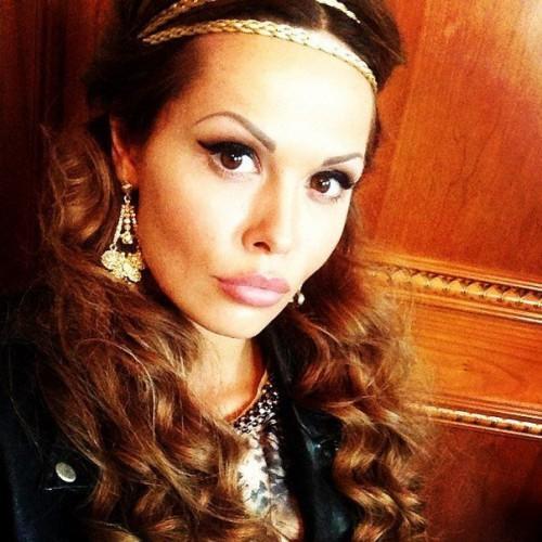 Российская актриса Мария Горбань