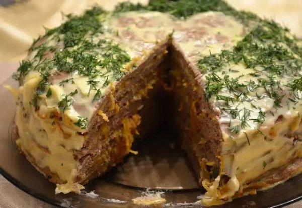 Рецепт                  Печеночный торт: Рецепт приготовления