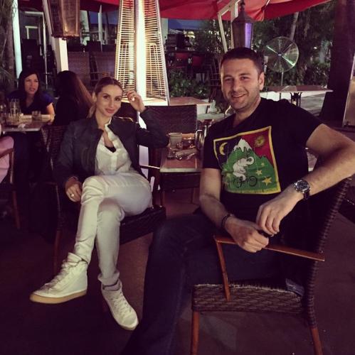 LOBODA с Сергеем Перманом в Майами, США.
