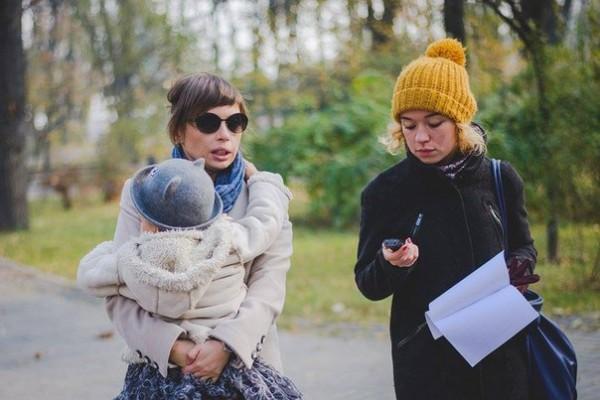 Надежда Пасичнюк на интервью с ведущей Ирэной Карпой