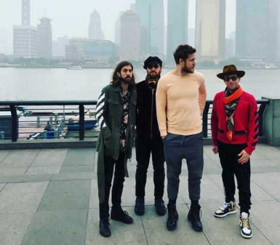 Imagine Dragons в Киеве: артист на разогреве