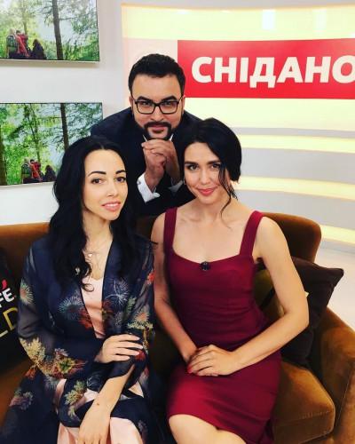 Катерина Кухар в гостях у Сніданку з 1+1