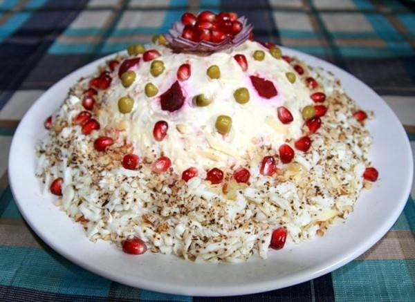 Рецепт салата Шапка Мономаха от Тони Матвиенко