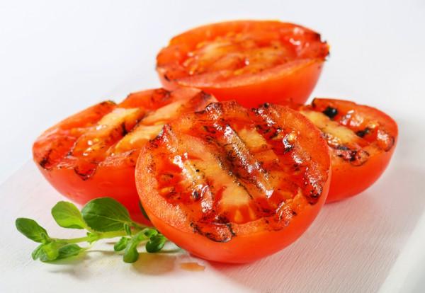 Рецепт                  Летний шашлык из помидоров