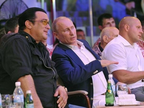 Стивен Сигал обсудил возможности сотрудничества в России