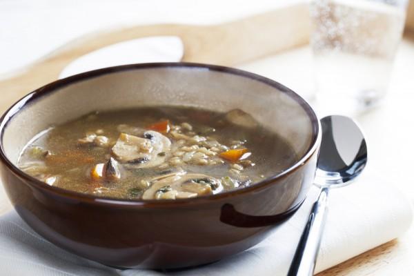 Рецепт постного супа с грибами и перловкой