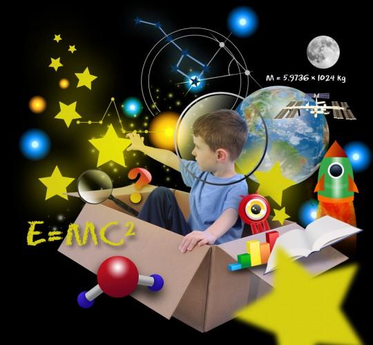 Развивай воображение ребенка, это поможет ему в будущем быстрее ориентироваться в различных ситуациях