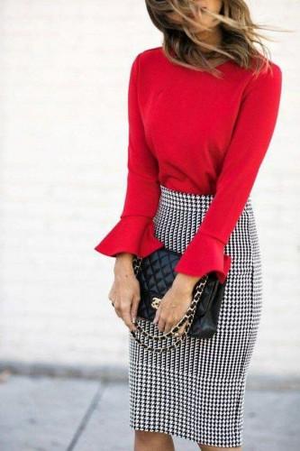 Блуза-колокольчик фото