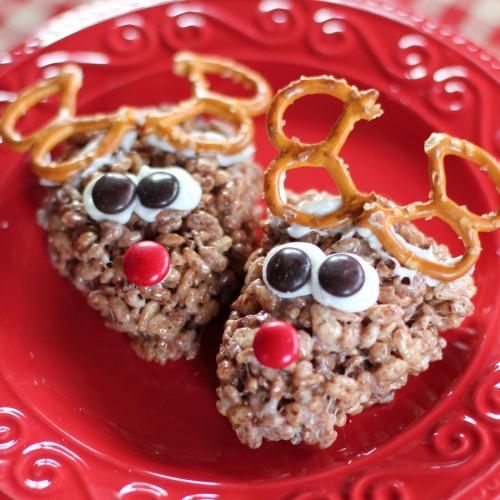 Рецепт                  Пирожные Рождественские олени