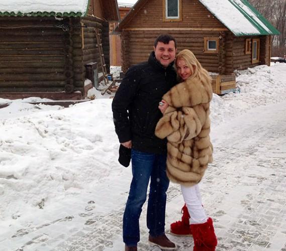 Анастасия Волочкова показала фото из личного архива