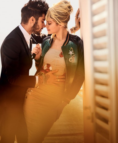 Джиджи Хадид и Зайн Малик на страницах Vogue