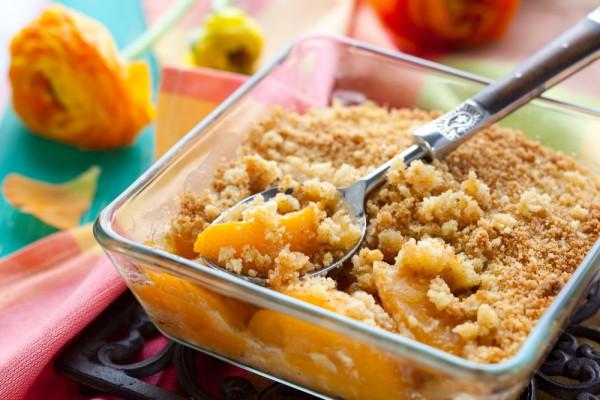 Рецепт                  Постный завтрак: Крамбль с фруктами